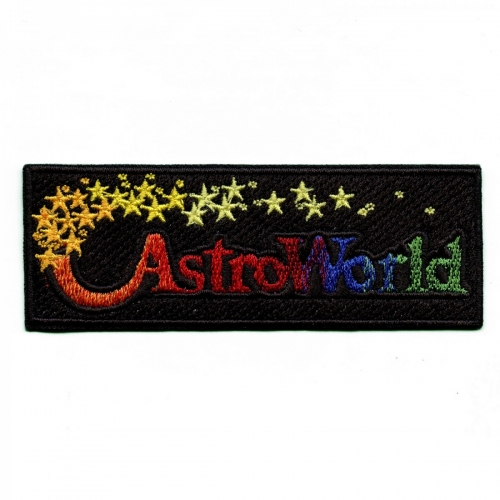 Original Astroworld Theme Park Streetwear Embroidered Iron On Patch