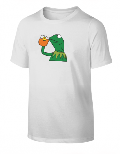 Frog Sipping Tea T-Shirt