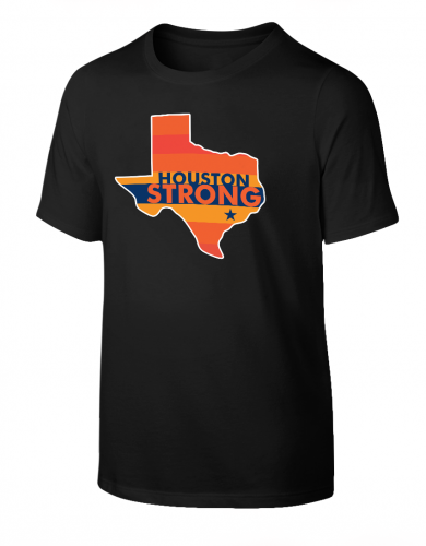 Houston Strong Rainbow T-Shirt