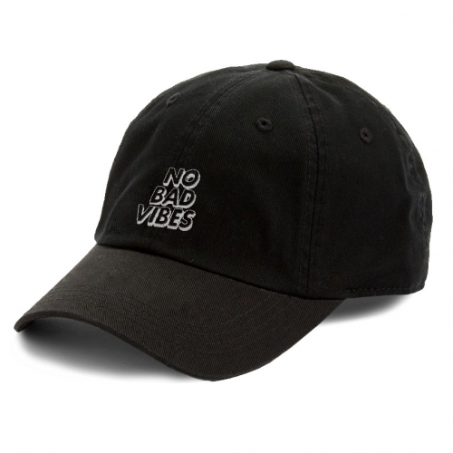 No Bad Vibes Embroidered Hat