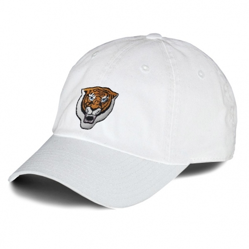 Tiger Head Embroidered Hat